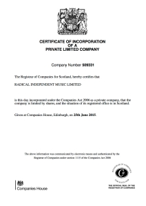 CERTIFICATE OF INCORPORATION copy